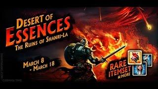 Drakensang Online  Mortis solo Blue essence 1Hand Sword ~ Desert of Essences