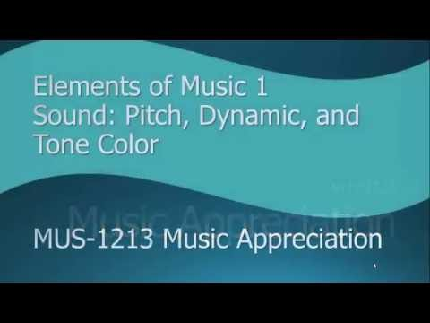JiTT 1 Music Appreciation