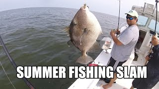 MEAT FISHING THE ROCKS! Triggerfish, Tautog, Sea Bass, Summer Flounder Cooler Stuffing!