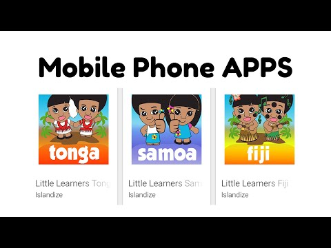 LITTLE LEARNERS SAMOA APP FOR MOBILE PHONE