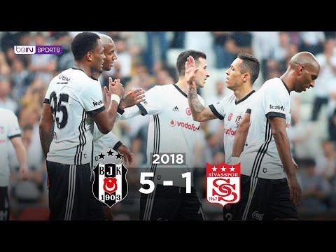 Beşiktaş 5 - 1 DG Sivasspor #Özet