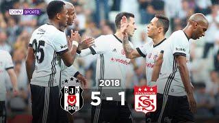 Beşiktaş 5 - 1 DG Sivasspor - Maç Özeti