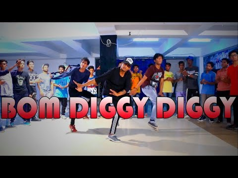 Bom Diggy Diggy   Zack Knight   Jasmin Walia   Dance Choreography @Ajeeshkrishna