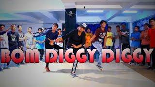 Bom Diggy Diggy | Zack Knight | Jasmin Walia | Dance Choreography @Ajeeshkrishna