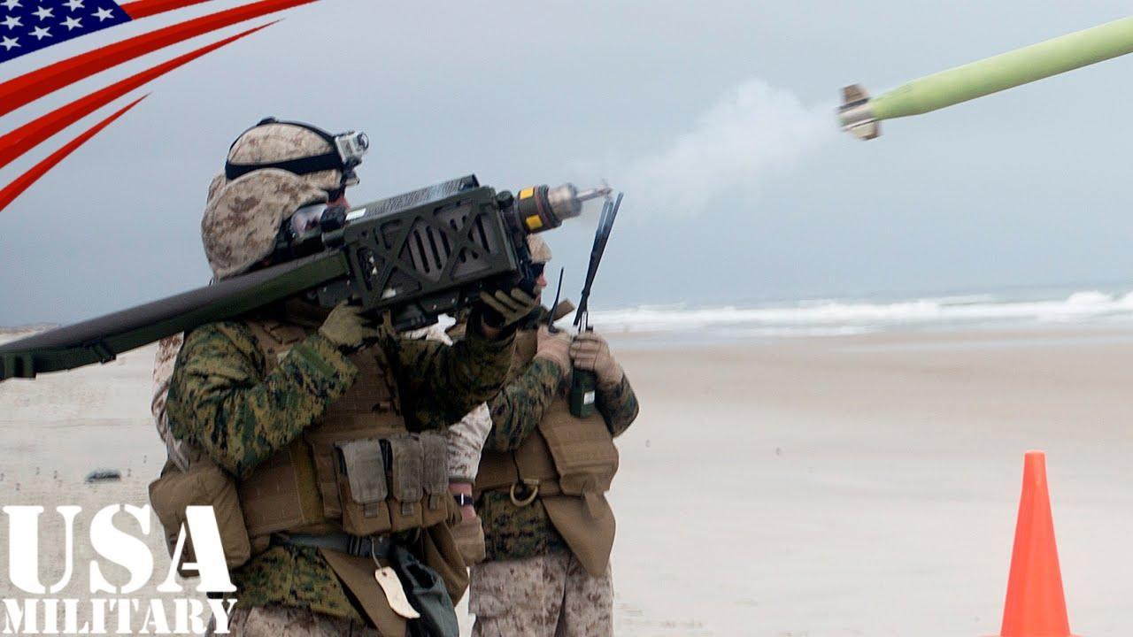 スティンガーミサイルの発射訓練...