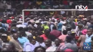 Moses Kuria walks out of BBI rally in Meru || #BBIInMeru