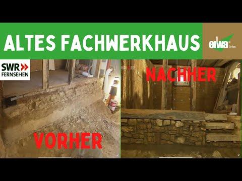 Sandsteinmauer fürs Wohnzimmer als Sichtmauerwerk - YouTube
