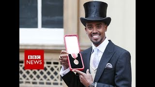 Sir Mo Farah: 'Coming to Britain not Speaking any English to Knighthood' - BBC News