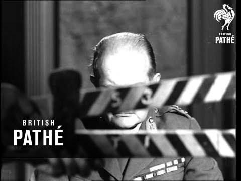 General Slim In Burma (1945)