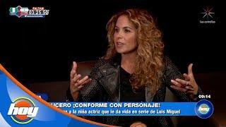 Lucero, ¿conforme con su personaje en la serie de Luis Miguel? | Hoy thumbnail