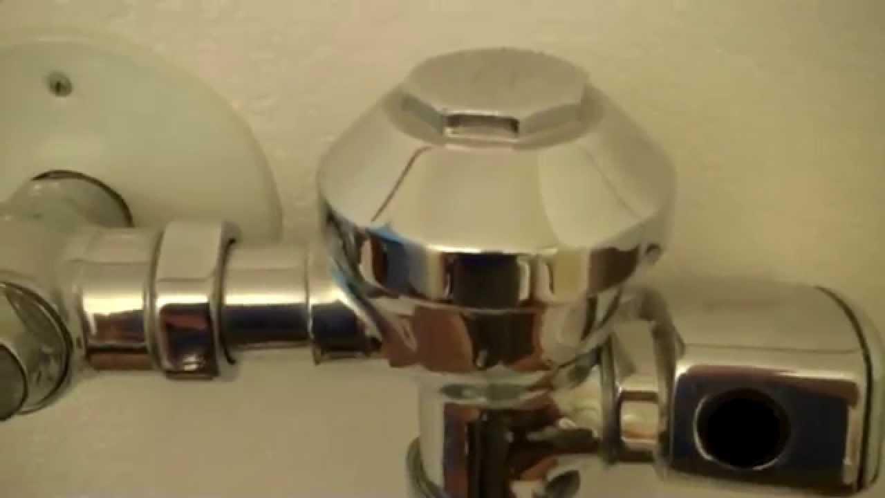 How To Repair A Commercial Flushometer Zurn Aquaflush