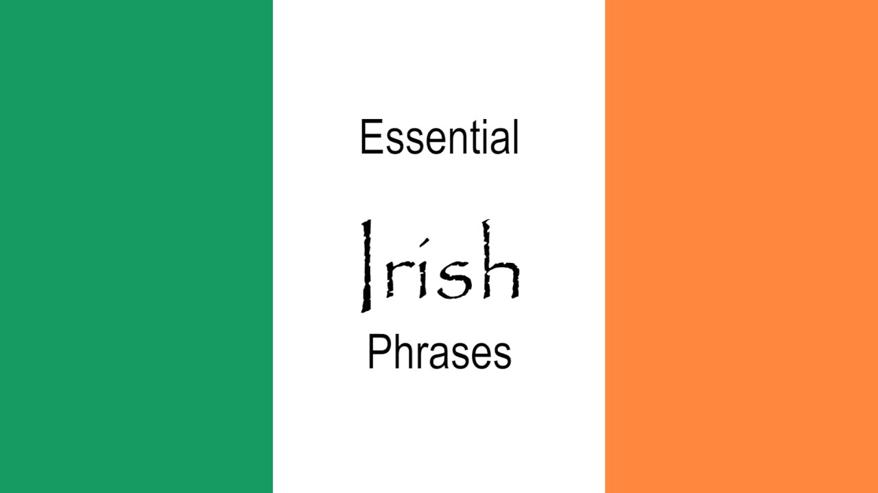 Tuesday tips essential irish phrases youtube tuesday tips essential irish phrases kristyandbryce Choice Image