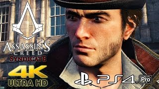 Assassin's Creed Syndicate - PS4 Pro 4K Gameplay @ 2160p HD ✔