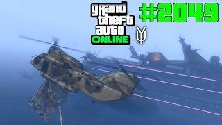 GTA 5 ONLINE Panzer auf die Yacht? Kein Problem oder? NICHT #2049 Let`s Play GTA V Online PS4 2K