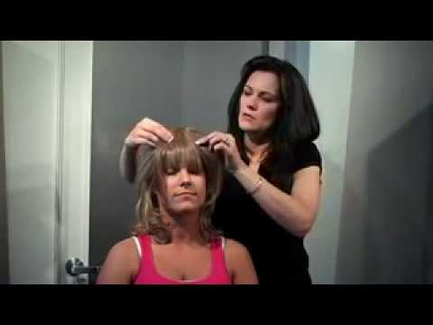 How to use hairdo Jessica Simpson Clip-In Bangs