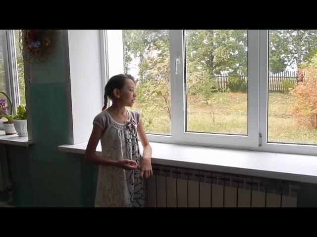 Диана Маркитанова читает произведение «Не видно птиц...» (Бунин Иван Алексеевич)
