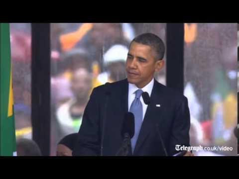 Barack Obama's Moving Tribute To Nelson Mandela In Full