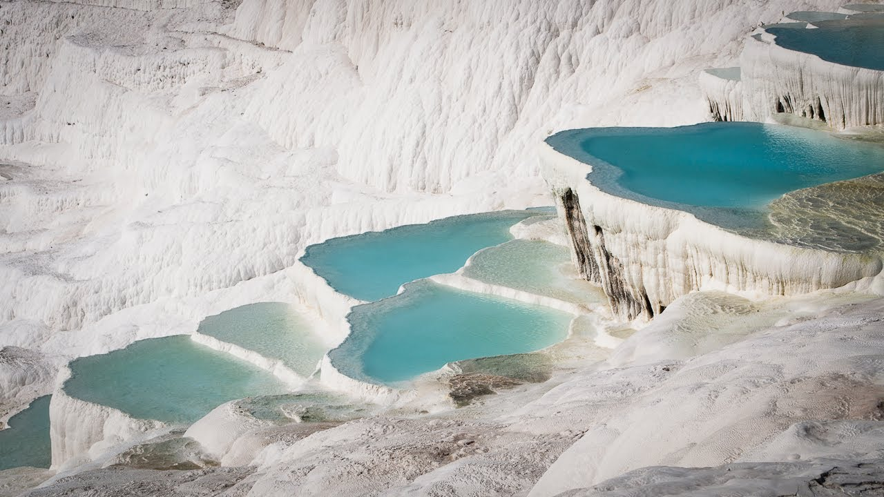 Best of Pamukkale and Hierapolis, South West Turkey - YouTube