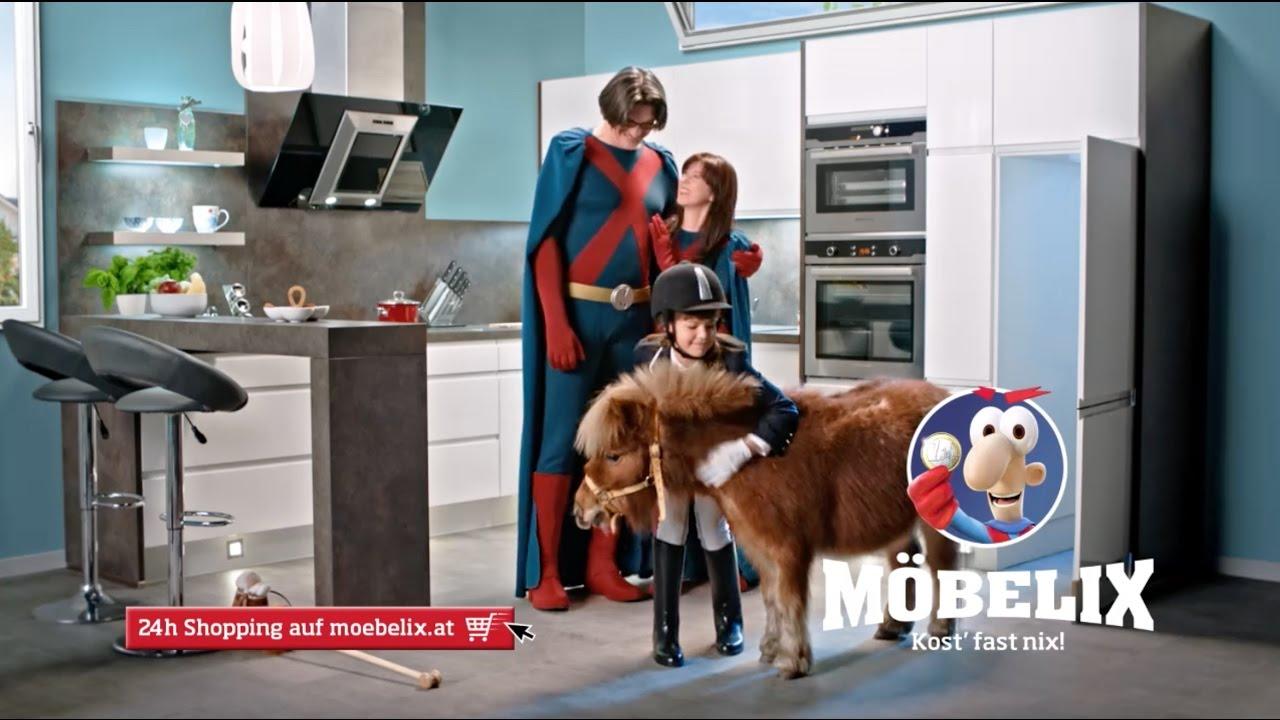 Möbelix TV Spot   Küchen U0026 Reitstunden Für Superheroes   Lange Version