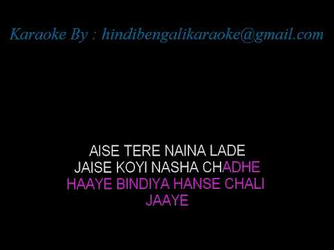 Aankhon Mein Kajal Hai With Female Vocals (Doosra Aadmi)Karaoke