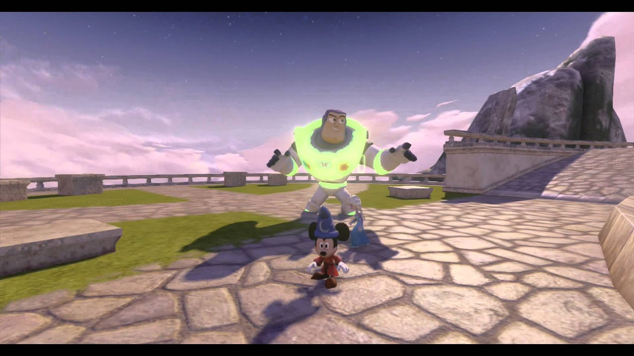 Disney Infinity, Hall of Heroes Glitch Reveals Glow in the ...