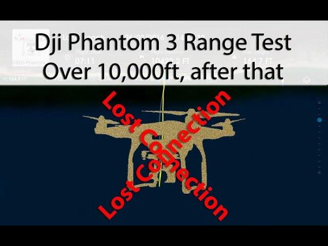 Dji Phantom 3 - 10,000 ft into the ocean