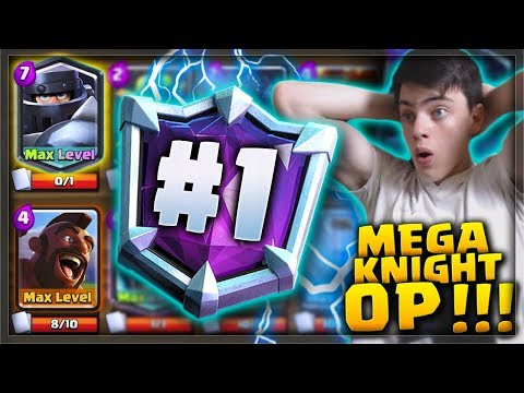 WE ARE 1# IN THE WORLD AGAIN! Max Mega Knight Hog OP!!