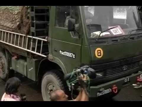 Malegaon Blast Case: Army vehicles escort Lt Col Purohit after his release from Taloja jai