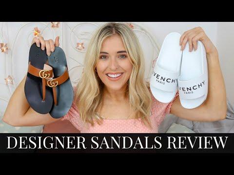 designer-slides-&-sandals-review-2019-|-givenchy,-gucci,-balenciaga-|-luxury-shoe-haul