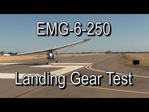 Emg 6 250 Landing Gear Test Youtube