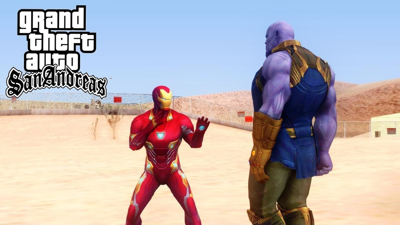 Gta san thanos mod download | Thanos Comes to San Andreas in