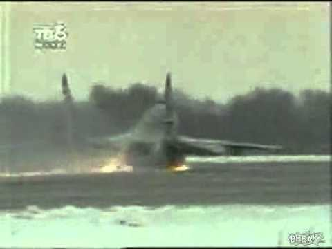 MiG-29 Take Off accident, Belly Take Off