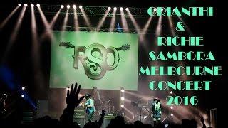 Orianthi & Richie Sambora Melbourne Concert 2016