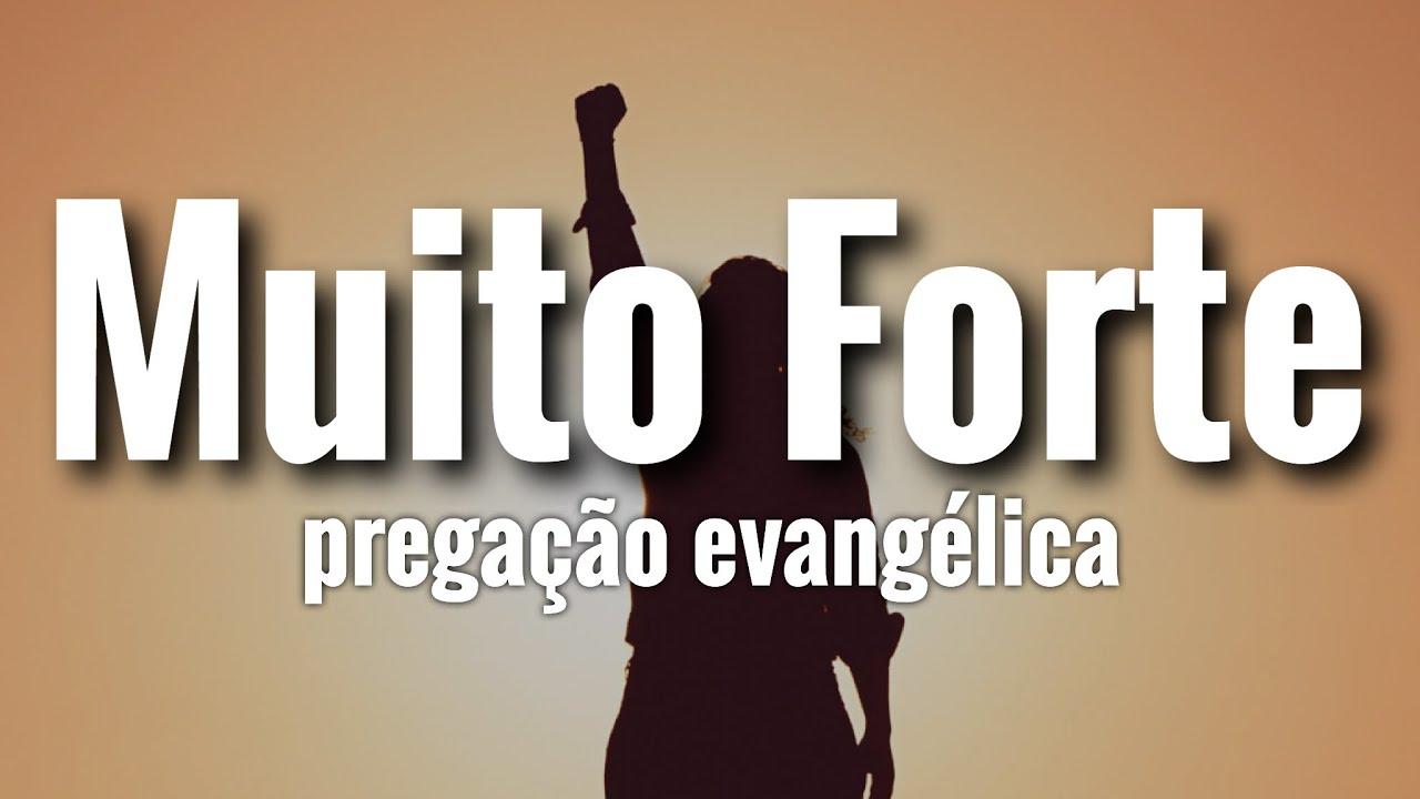 Muito Forte! a Melhor Pregação Evangélica!Palavra Impactante!