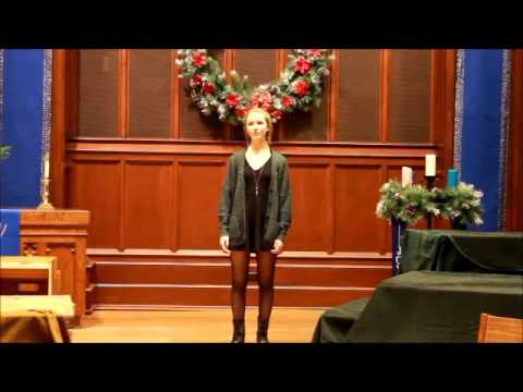Sarah Curry - University of Minnesota School of Music, Audition Tape