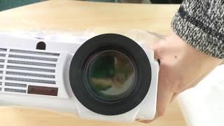 светодиодный проектор HD1280х800, посылка из Китая. Проектор BT96. Распаковка