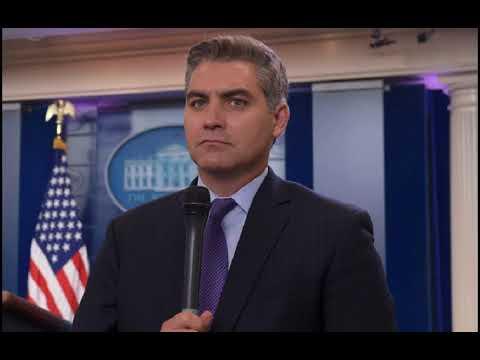 Jim Acosta scraps with Hugh Hewitt over Trump coverage
