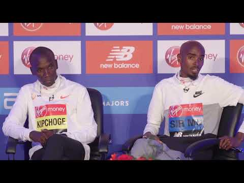 LIVE! 🔥 Eliud Kipchoge and Sir Mo Farah press conference