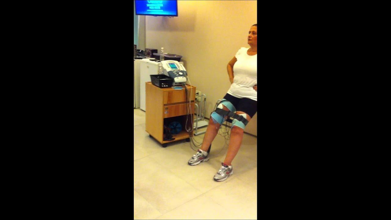 Mó   fisioterapia Tratamento para artrose de joelho. - YouTube