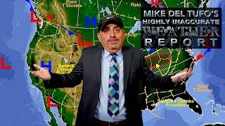 Mike Del Tufo's (Highly Inaccurate) Weather Report: NFL Conference Title Games | The Rich Eisen Show
