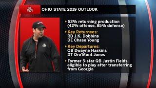 Ohio State Coach Ryan Day Previews QB Justin Fields & 2019 Season    2019 B1G Football Media Days