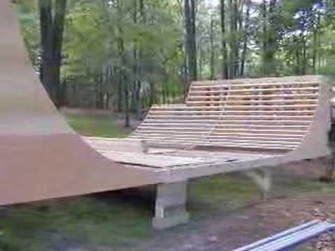 Halfpipe Construction 6 Foot Youtube