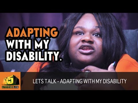 Young Black and Disabled   Lets Talk S1Ep1  ADAPTING