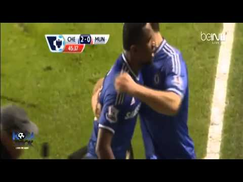 Chelsea vs Manchester United 3 1 Goals & HighLights   Eto'o Great Hattrick 19 01 2014 HD