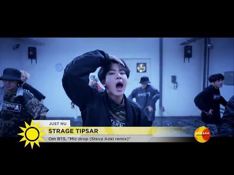 Se det koreanska pojkbandet som invaderat USA - Nyhetsmorgon (TV4)