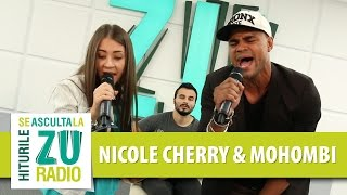 Mohombi &amp Nicole Cherry - Medley (Live la Radio ZU)