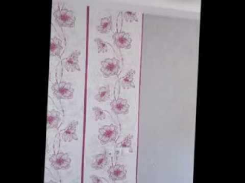 Como decorar un dormitorio con papel pintado y falso - Decorar dormitorio con papel pintado ...