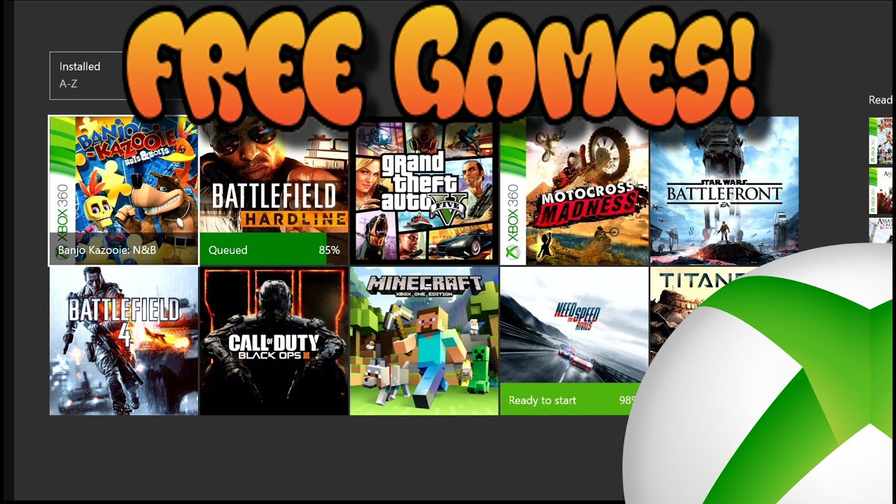 How To Get Free Xbox One Games Battle Field Fifa Need
