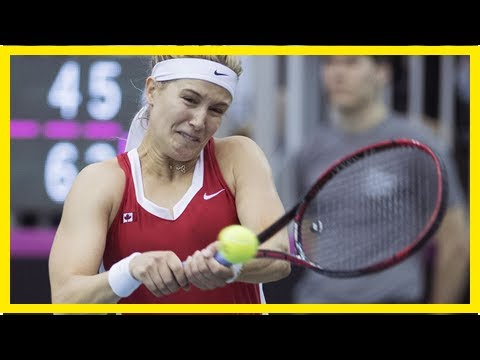 Breaking News | Canada overcomes injuries to top Ukraine in Fed Cup playoff