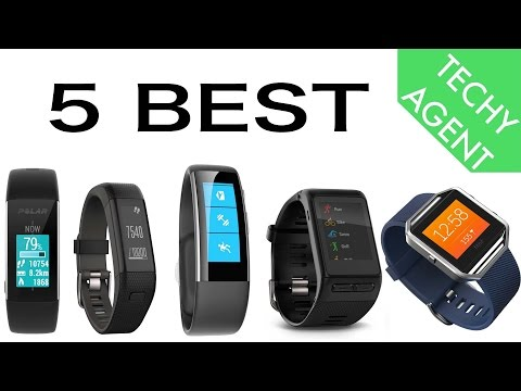 5 BEST fitness trackers (as of August 2016)